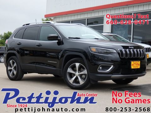 Pre-Owned 2019 Jeep Cherokee Limited 4WD 4D Sport Utility