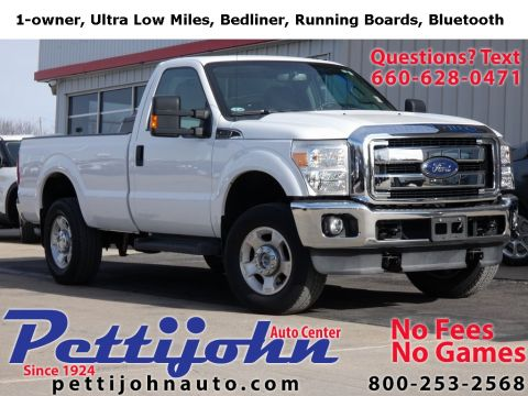 Pre-Owned 2013 Ford F-250SD XLT 4WD 2D Standard Cab