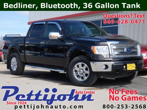 Pre-Owned 2014 Ford F-150 XLT 4WD 4D SuperCrew