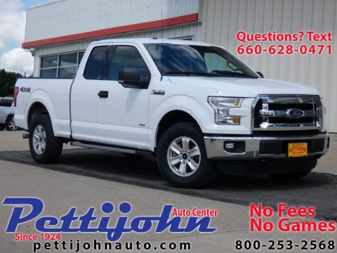 Pre-Owned 2015 Ford F-150 XLT 4WD Super Cab