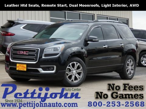 Pre-Owned 2014 GMC Acadia SLT-1 AWD 4D Sport Utility