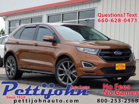 Pre-Owned 2017 Ford Edge Sport AWD 4D Sport Utility
