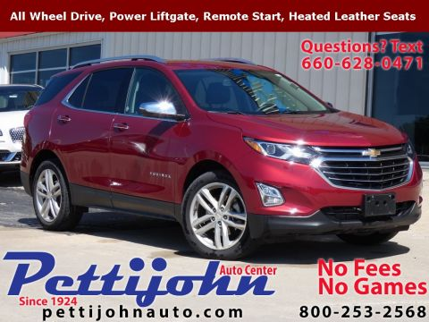 Pre-Owned 2019 Chevrolet Equinox Premier AWD 4D Sport Utility