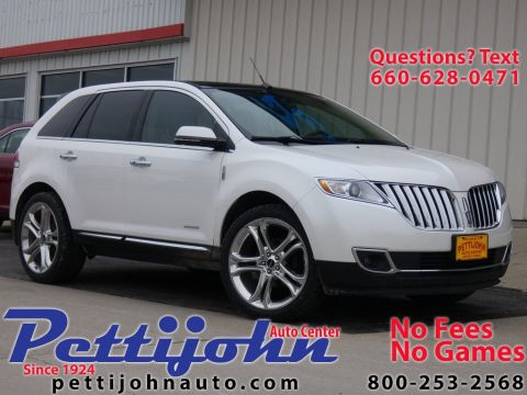 Pre-Owned 2015 Lincoln MKX Base AWD 4D Sport Utility
