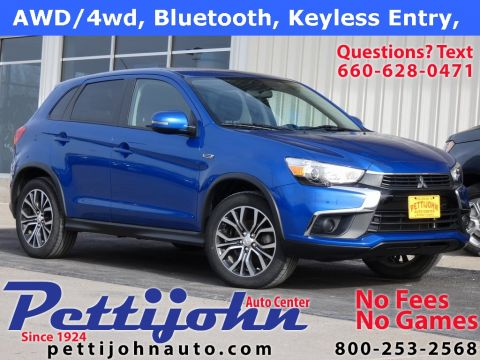 Pre-Owned 2016 Mitsubishi Outlander Sport ES 4WD 4D Sport Utility