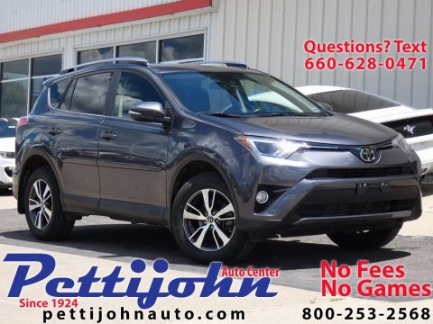 Pre-Owned 2017 Toyota RAV4 XLE AWD 4D Sport Utility