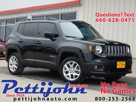 Pre-Owned 2018 Jeep Renegade Latitude 4WD 4D Sport Utility