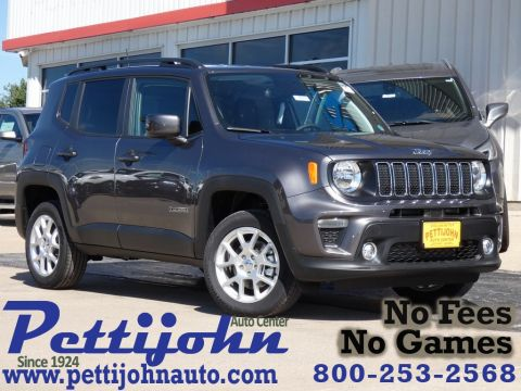 New 2019 JEEP Renegade Latitude 4WD Sport Utility